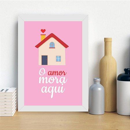 Quadro Criativo para Sala Amor