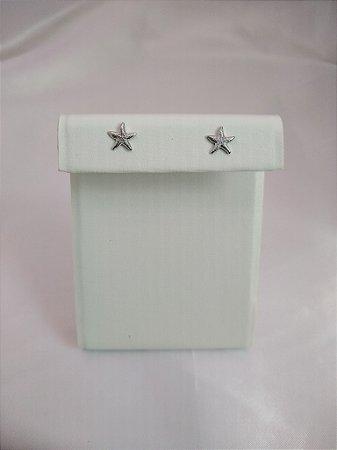 Mini brinco estrela marinha