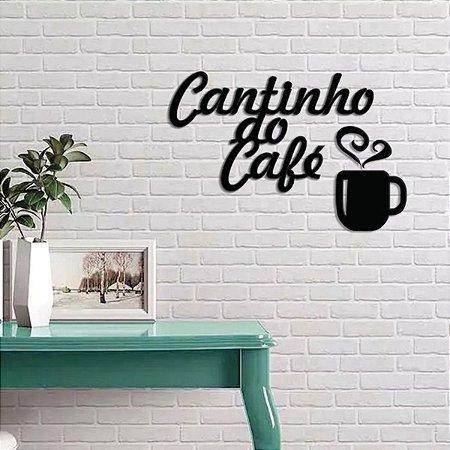 Placa Cantinho do Café - Caneca