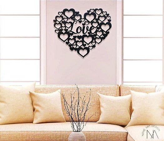 Quadro Love Coração