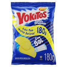 Batata Frita Ondulada com Sal Yoki Yokitos Pacote 180g