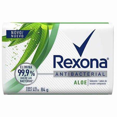 Sabonete Rexona Aloe Antibacterial 84g