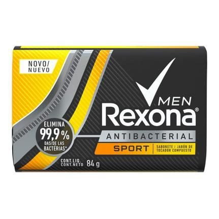 Sabonete Rexona Men Sport Antibacterial 84g