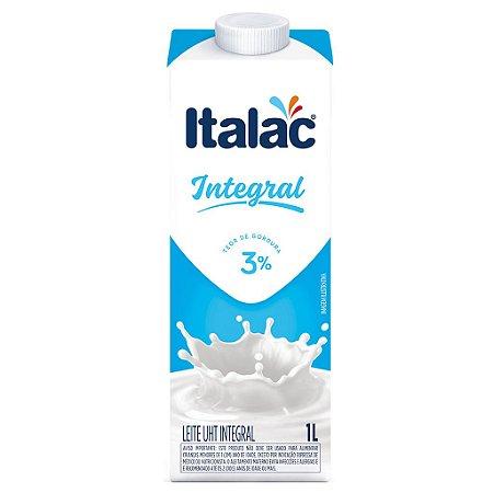 Leite Integral Italac (Leite UHT Integral) 1litro