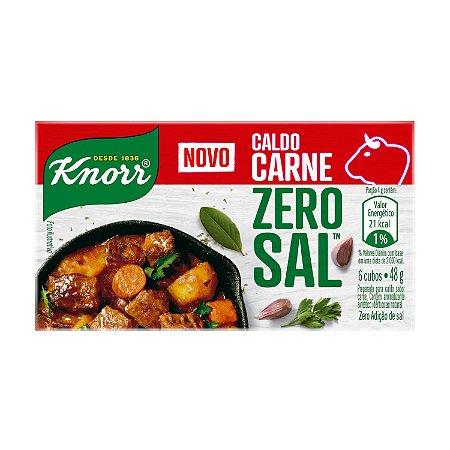 Caldo Knorr Zero Sal Carne 49g
