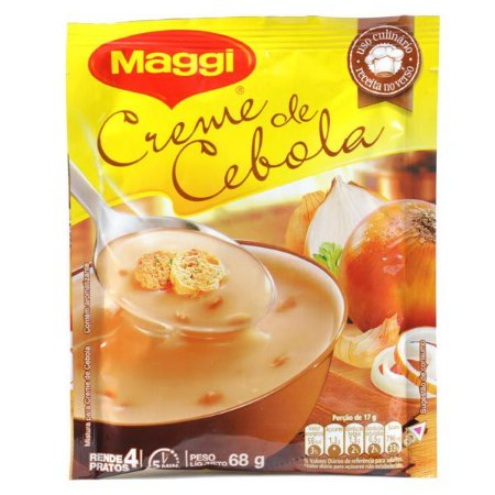 Creme de Cebola Maggi - Também para uso Culinário 69g