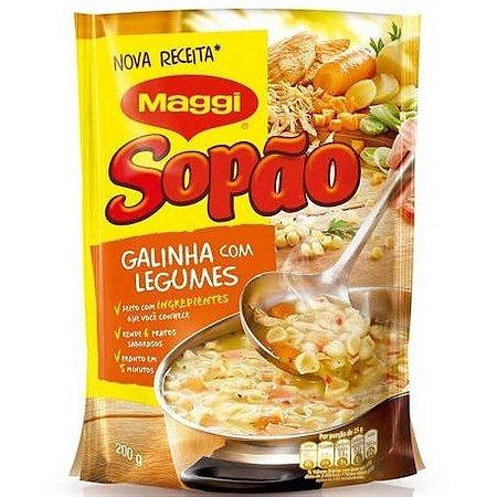 Sopão Maggi Galinha com Legumes 200g