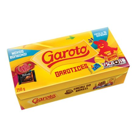 Caixa de Bombons Garotices Garoto 250g