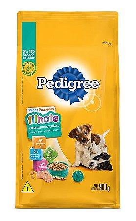 Ração para Cachorro Filhote Crescimento Saudável Raças Pequenas - Pedigree 900g