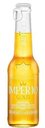 Cerveja Imperio Gold Long Neck 210 ml