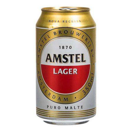 Cerveja Amstel Lager 350ml Lata