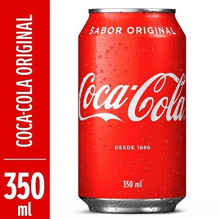 Refrigerante Coca-Cola Sabor Original Lata 350ml