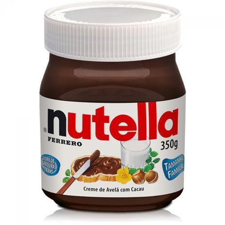 Creme de Avelã Nutella Ferrero 350g