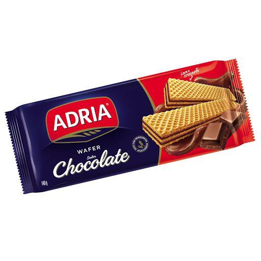 Wafer Sabor Chocolate Adria 140g