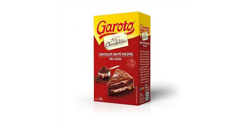 Chocolate em Pó Solúvel Garoto 200g