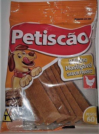 Bifinho para Cães Sabor Frango Petiscão 60g
