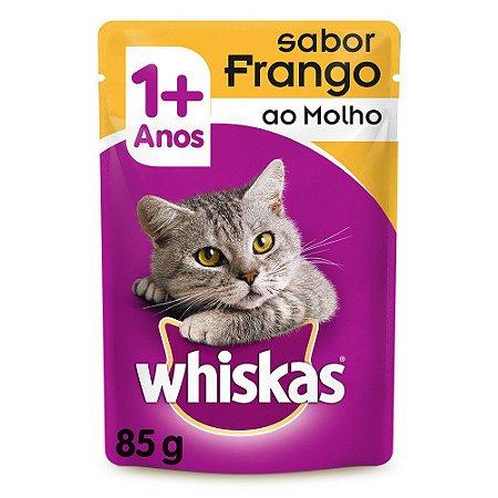 Sachê Sabor Frango ao Molho Whiskas 85g