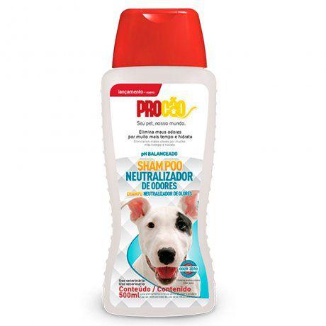 Shampoo Neutralizador de Odores  ProCão 500ml