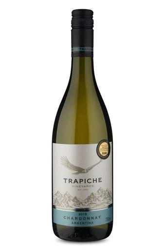 Vinho Trapiche Vineyards Chardonnay 2017 750ml