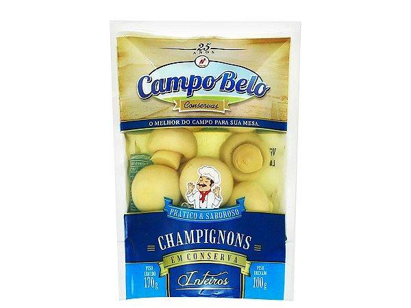 Champignons em Sachê Campo Belo 170g drenado 100g