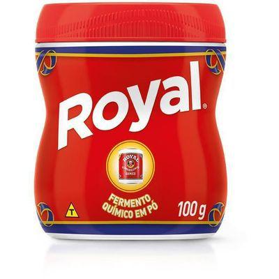 Fermento Químico em Pó Royal 100g