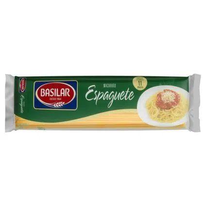 Massa para Macarrão Basilar Espaguete 500g