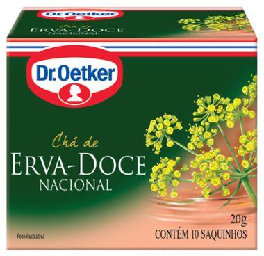 Chá Hortelã Dr. Oetker 10g com 10 Saquinhos