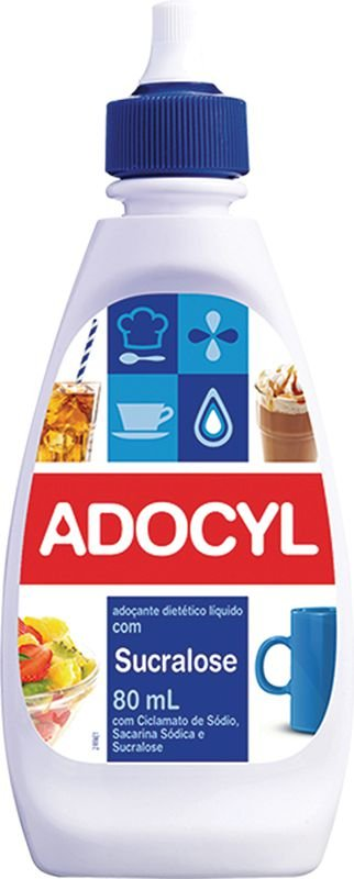 Adoçante Liquido Sucralose Adocyl 100ml
