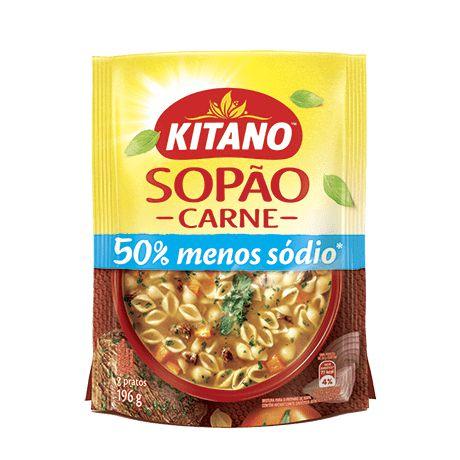 Sopão Kitano Carne 196g