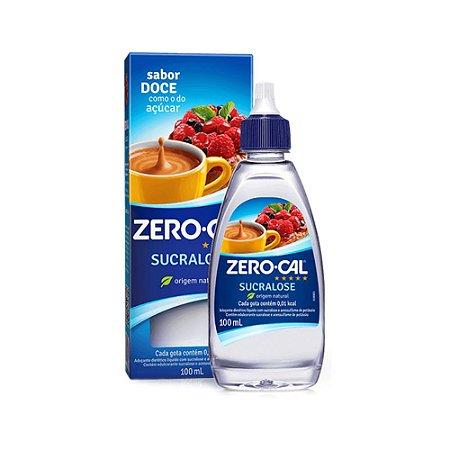 Adoçante Liquido Sucralose Zero Cal 100ml