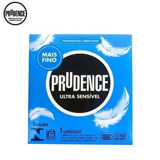 Preservativos Lubrificados Prudence Ultra Sensível c/ 1 unid