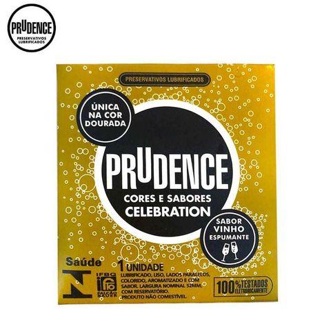 Preservativos Lubrificados Prudence Cores e Sabores - Celabration C/1 unid