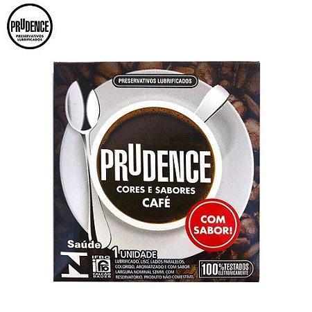 Preservativos Lubrificados Cores e Sabores - Café C/1 unid