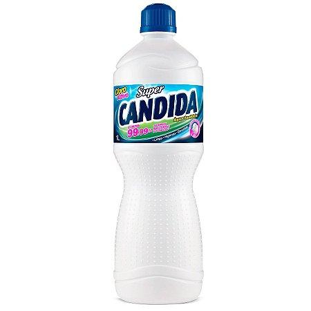Água Sanitária Super Candida 1L
