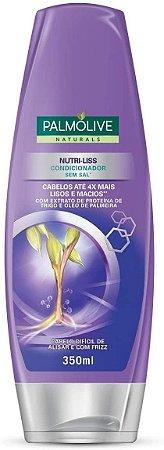 Condicionador Palmolive Nutri-Liss com Extrato de Proteína de Trigo e Óleo de Palmeira 350ml