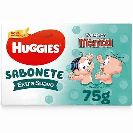 Sabonete em Barra Extra Suave Huggies Turma da Monica 75g