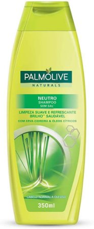 Shampoo Palmolive Neutro com Erva Cidreira & Óleos Citricos 350ml