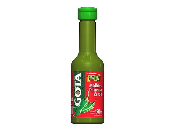 Molho de Pimenta Verde Gota 150ml
