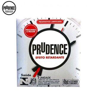 Preservativos Lubrificados Prudence Efeito Retardante c/ 1 unid