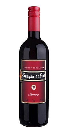 Vinho Tinto Suave Sangue de Boi 750ml