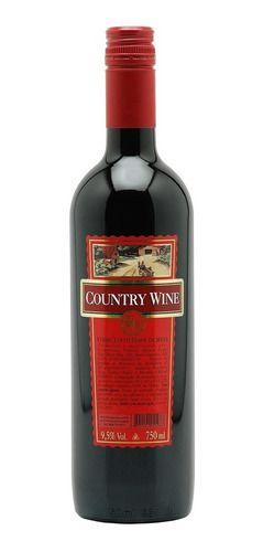 Vinho Tinto Suave Country Wine 750ml
