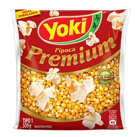 Pipoca Premium Yoki  500g