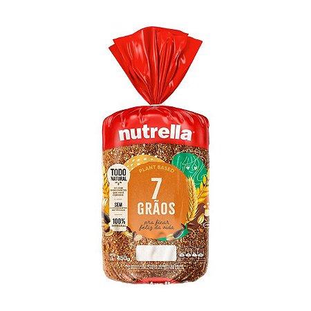Pão 7 Grãos Nutrella Integral 450g