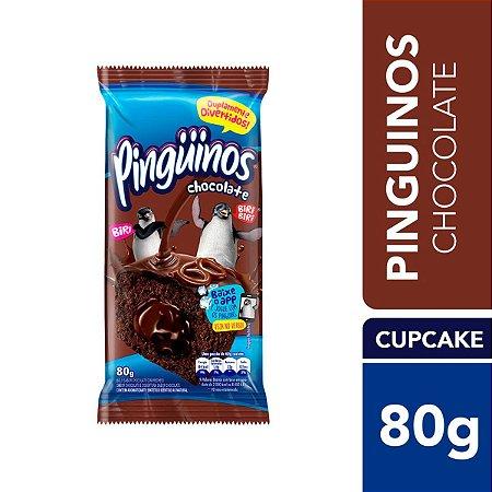Bolinho Pingüinos Triplo Chocolate 80g
