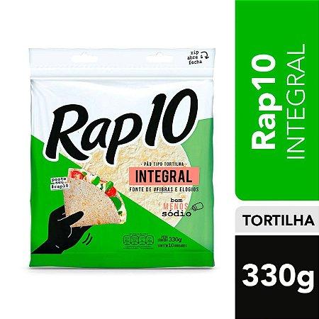 Pão Tipo Tortilha Rap 10 Integral 330g