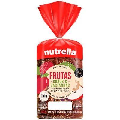 Pão Supreme Frutas Nutrella 550g