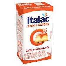 Leite Condensado Italac  0% Lactose  395g