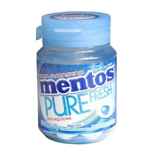 Goma De Mascar Mentos Pure Fresh Menta 56g