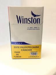 Cigarro Winston Blue