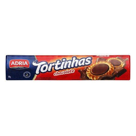 Biscoito Tortinha Recheadas Sabor Brigadeiro   Adria